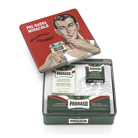 Proraso Vintage Selection Tin Refreshing - www.elegantgents.com