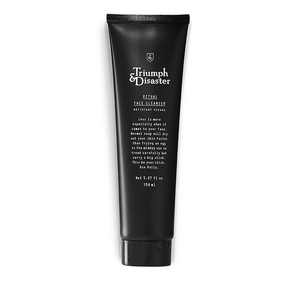 Triumph & Disaster Ritual Face Cleanser 150ml - www.elegantgents.com