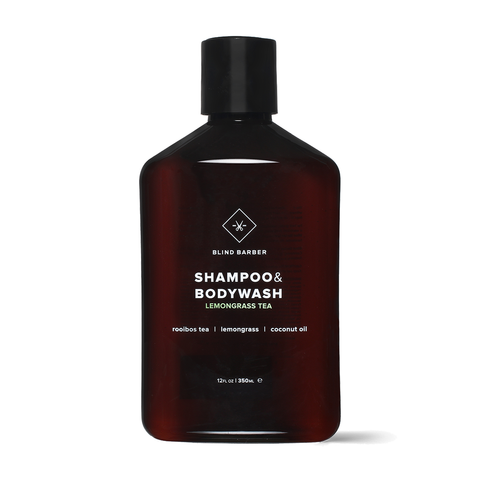 Blind Barber Lemongrass Tea Shampoo & Bodywash 350ml - www.elegantgents.com