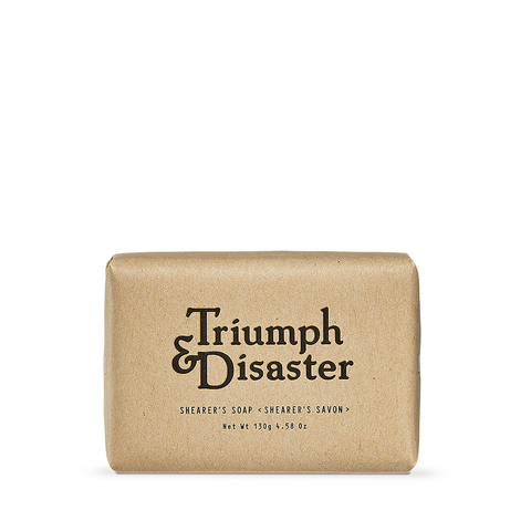 Triumph & Disaster Shearers Soap 130g - www.elegantgents.com