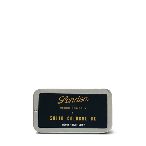 LBC x Solid Cologne Wax Based Fragrance (Woody - Rich - Spicy) 18ml - www.elegantgents.com