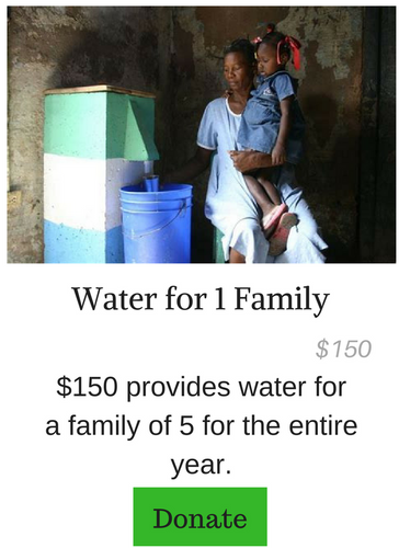 Water For 1 Family
