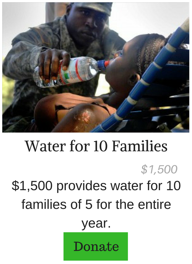 Water for 10 Families