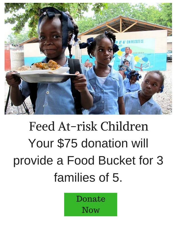 Food Bucket For 3 Families of 5