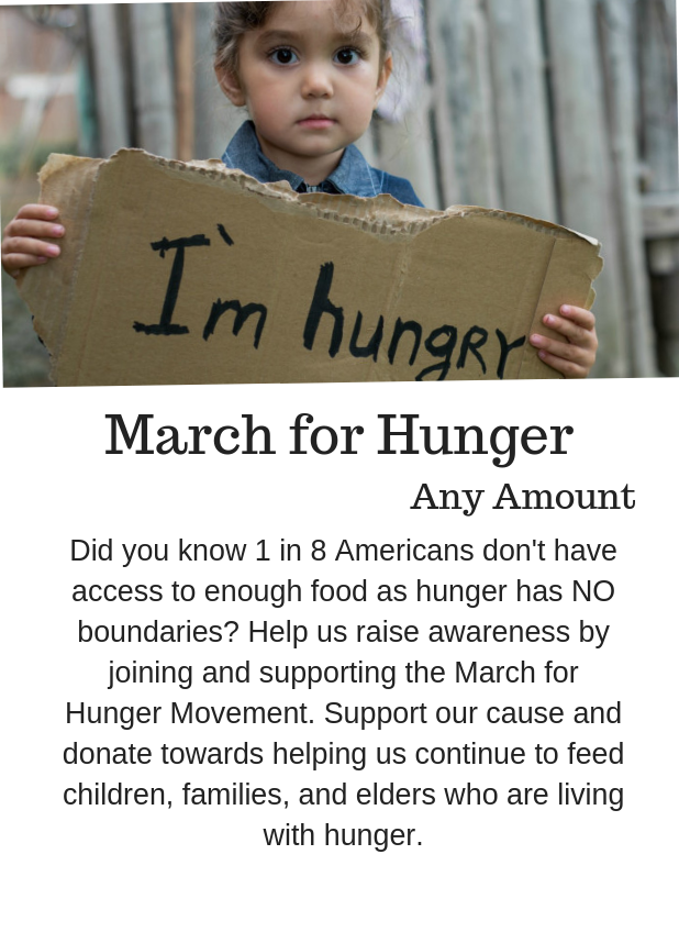 March For Hunger Movement