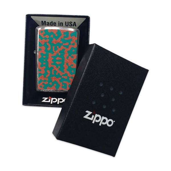 Orange Skin Zippo Lighter