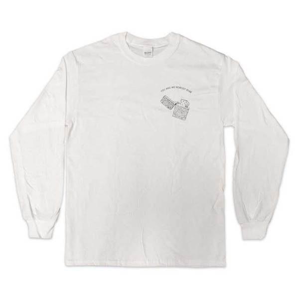 You & Me Longsleeve White T-Shirt