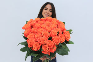 Orange roses – the variety of meanings