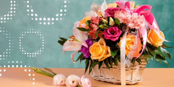 How to present a gift basket?