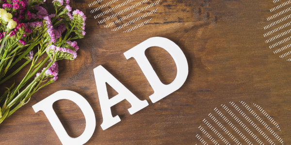 What flowers give for Father's Day?