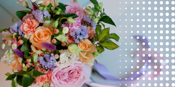 lush bouquets for the wedding