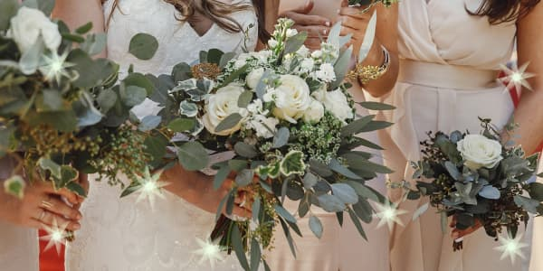 history of wedding bridal bouquets