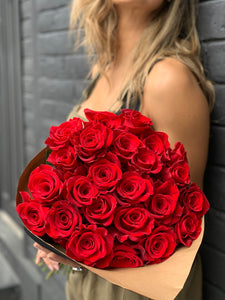 Explosion Red Roses Bouquet - Rosaholics