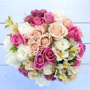 Ti Amo Fresh Flower Bouquet - Rosaholics