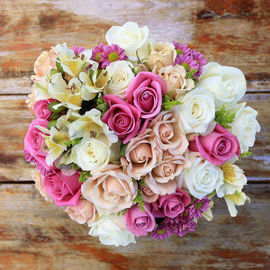 Ti Amo Fresh Flower Bouquet 1 - Rosaholics