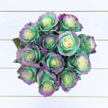 Load image into Gallery viewer, Aquamarine Rose Bouquet 2 - Rosaholics