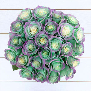 Aquamarine Rose Bouquet - Rosaholics