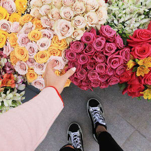 Assemble your own bouquet - Rosaholics