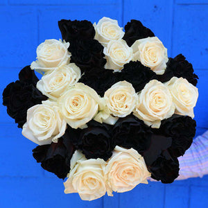 Ghost (exclusive) Halloween Rose Bouquet 2- Rosaholics