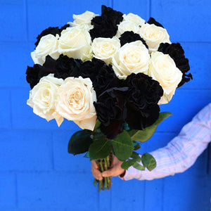 Ghost  Halloween Rose Bouquet Delivery - Rosaholics
