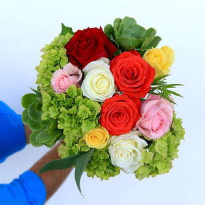 Glamorose Rose Bouquet Delivery - Rosaholics