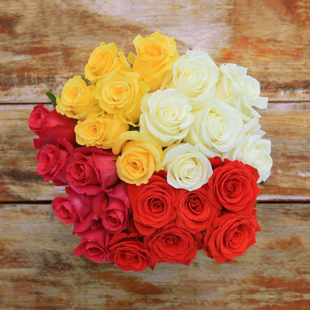 Tulum Fresh Rose Bouquet - Rosaholics