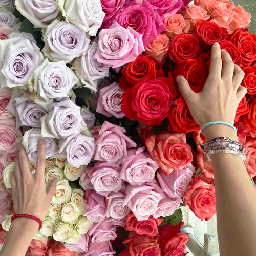 Assemble your own bouquet