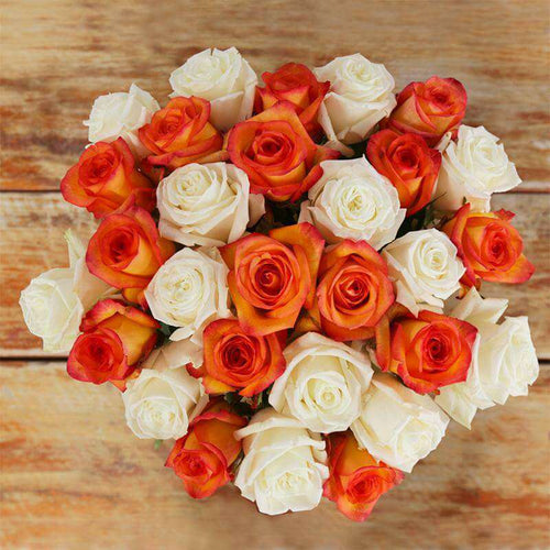 Isadora Fresh Rose Bouquet - Rosaholics