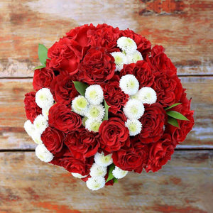 Love is a Place Flower Bouquet - Rosaholics
