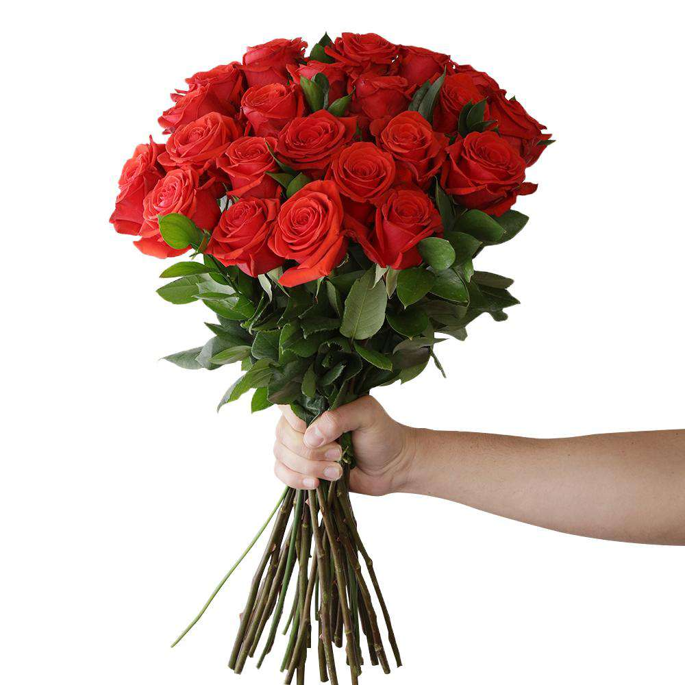 I Love You Classic Fresh Red Rose Bouquet For Sale Online Rosaholics