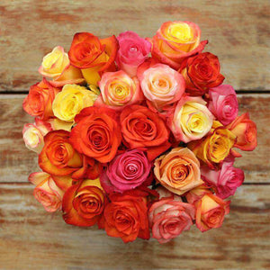 Crush Rose Bouquet - Rosaholics