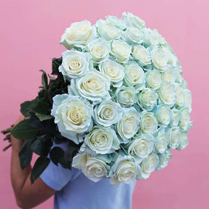 Lightmoon Rose Bouquet Delivery - Rosaholics