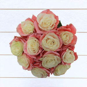 Pink Ice Rose Bouquet 12st - Rosaholics