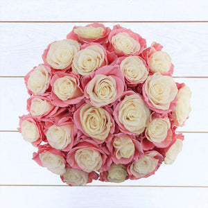 Pink Ice Rose Bouquet 24st - Rosaholics