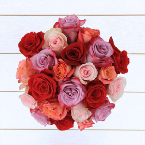 Romantic Rose Bouquet 24st - Rosaholics