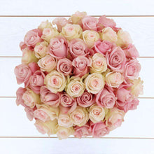 Load image into Gallery viewer, Stardust Rose Bouquet 48st - Rosaholics