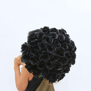 Black Mamba Bouquet - Rosaholics