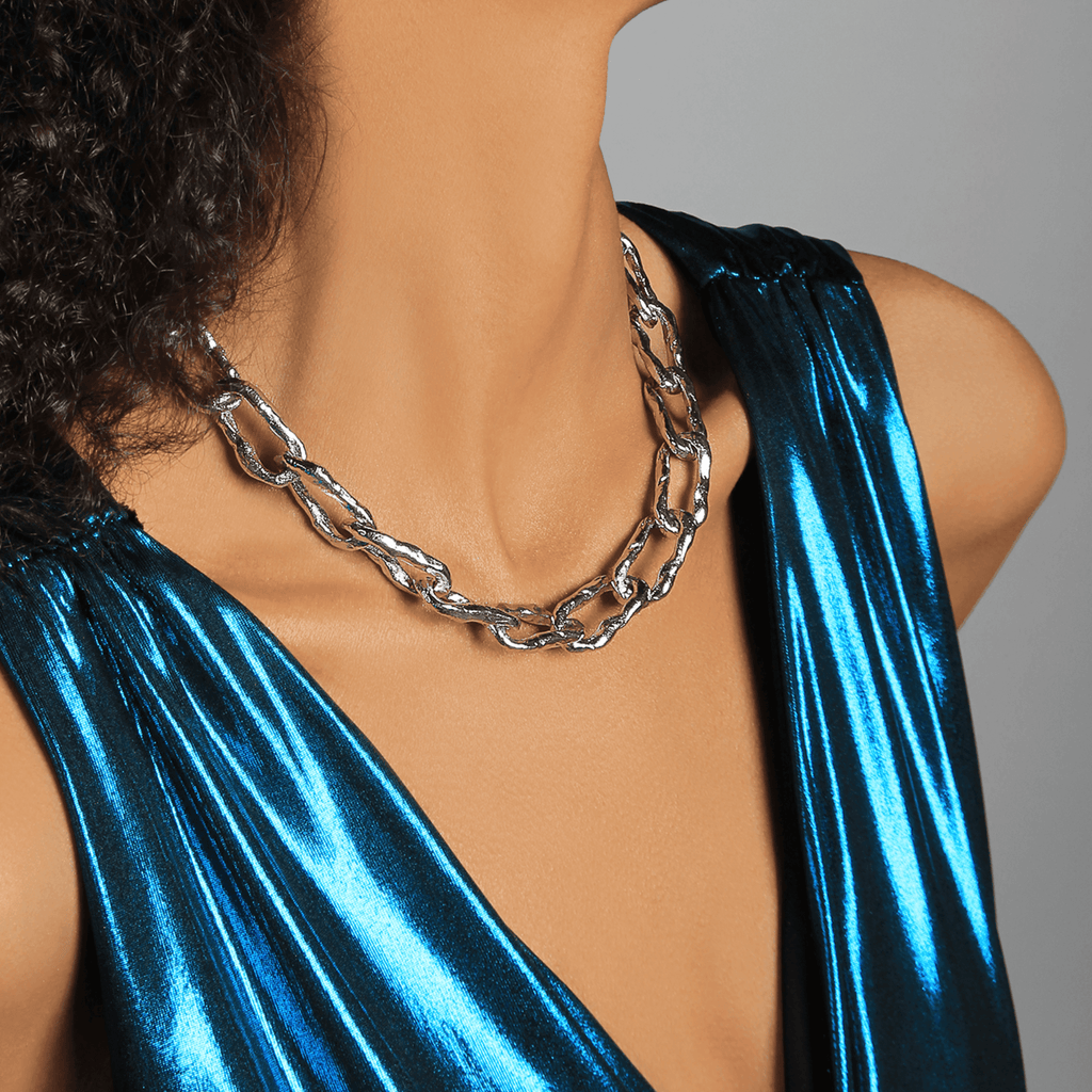 Nelly Chain Silver Necklace