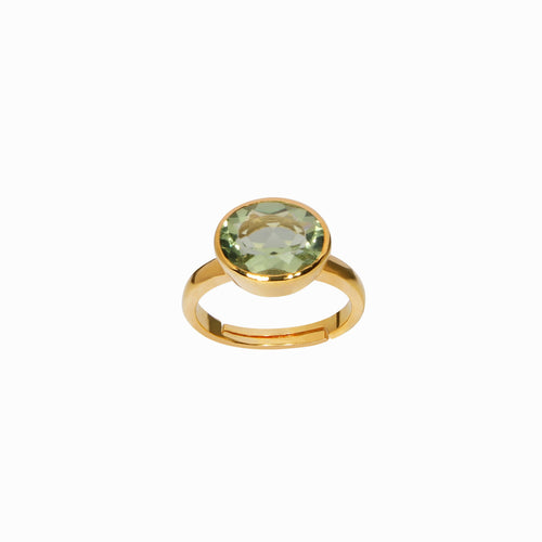 Royal Green Amethyst Ring