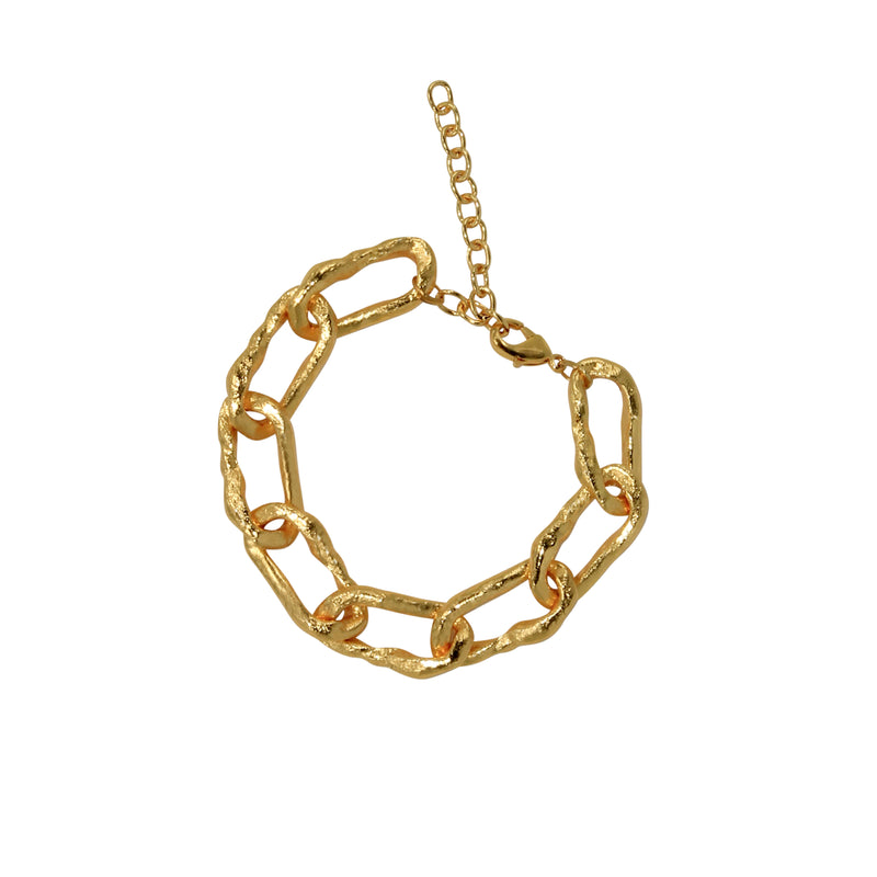 Nelly Chain Gold Bracelet