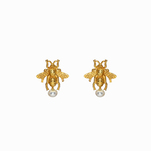 Gucci Bee Statement Earrings Jewelry. Gucci insect fly bug logo jewelry. Dior bee insect earrings statement earrings. Gucci logo Dior brand logo earrings.