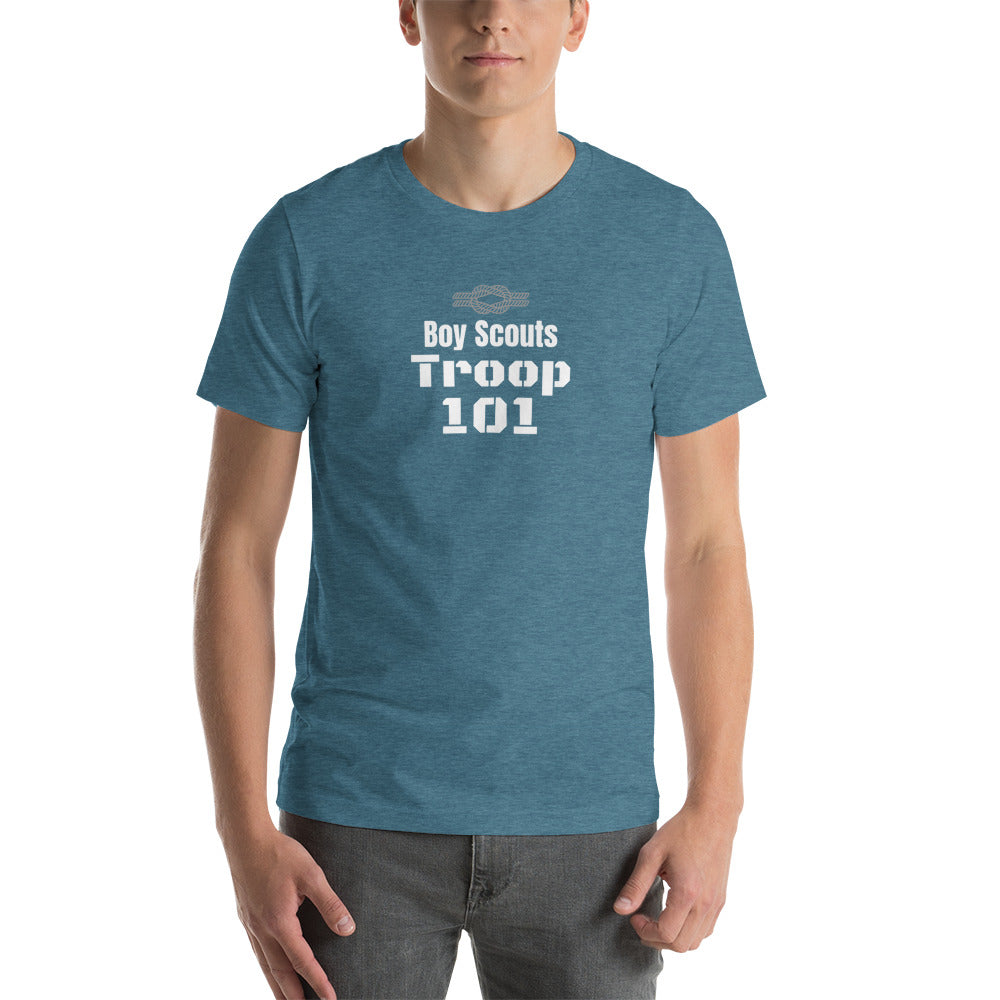 Troop Number Short-Sleeve Unisex T-Shirt (Customize)