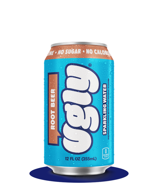 Root Beer 12oz Ugly Sparkling Water - Limited Edition by Ugly Drinks