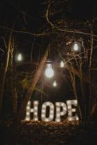 Photo of the word HOPE