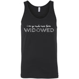I Am So Much More Than Widowed Unisex Jersey Tank