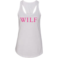 WILF Women's Ideal Racerback Tank