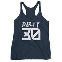 Dirty Thirty Women's Racerback Tank