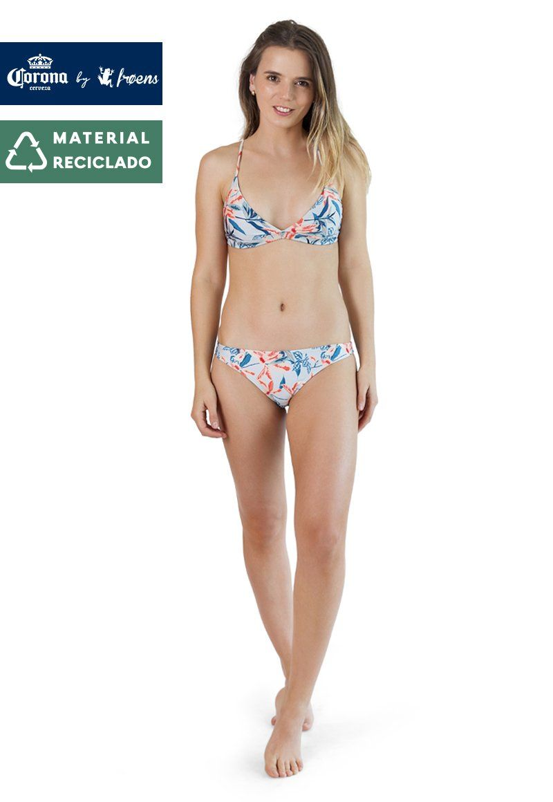 BIKINI CROSS HERBAL CELESTE CORONA BY FROENS Mujer FroensCL