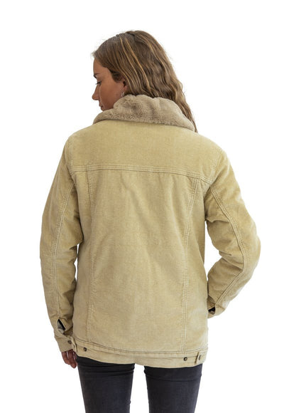 Chaqueta Cotele Chiporro Cafe Mujer Frøens