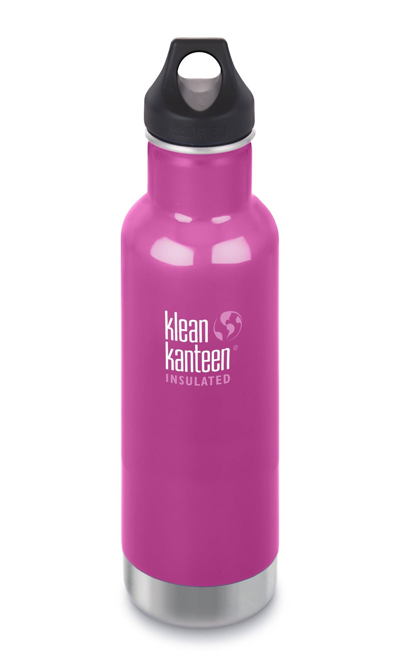 Botella Kleen Kanteen 20OZ  CLASSIC INSULATED WILD ORCHID